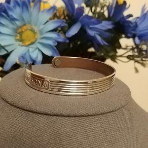 2/$30 Silver Plated Copper Sabona Magnet Bracelet